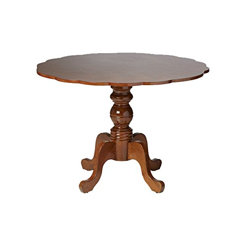 Boraam 21055 Regency Dining Table, Burnt Walnut (Table Pub Regency Set)