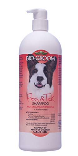 Bio-Groom Flea and Tick Shampoo, 32-Ounce