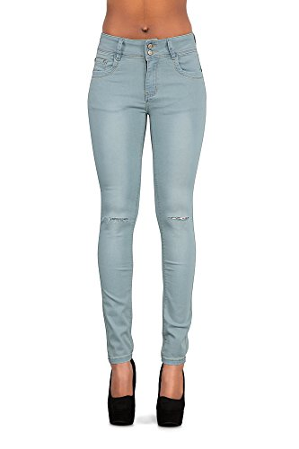 Light Donna Donna Jeans Light Lustychic Jeans Blue Lustychic EfqY1Oxw1