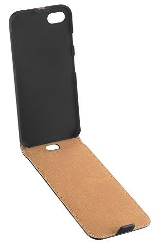 yayago Flip Tasche für Apple iPhone 7 Hülle Flip Case Schwarz