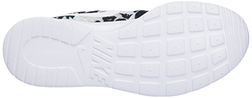 Tanjun de Pr White para Zapatillas Wmns Plateado Platinum Mujer Pr Nike Pltnm Deporte Print Blk ax1qzz5