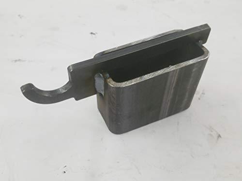 US Metal Works AR500 Target Hanger Hook for 2 X 4 Topper, Gong Hanger (2 Pack)