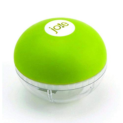 Joie Garlic Chopper, Stainless Steel Blades, BPA Free and FDA Approved, 3-Inches x 2.5-Inches