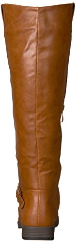 amp; Calf Boot Women's Riding Wide Co Brinley Blaire Regular Chestnut xqPYUww8