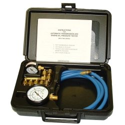 Tool Aid Automatic Transmission - SG Tool Aid (SGT34580) Automatic Transmission And Engine Oil Pressure Tester With Two Gauges In Molded Plastic Storage Case