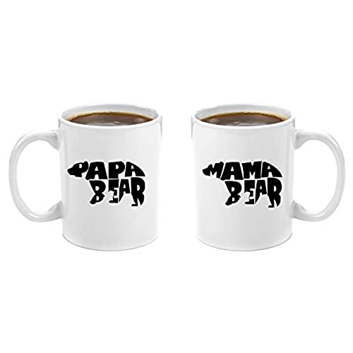 mama bear papa bear premium 11oz coffee mug gift set perfect birthday gifts for mom and dad anniversary gifts for parents new parents gifts - Best Christmas Gifts For Parents