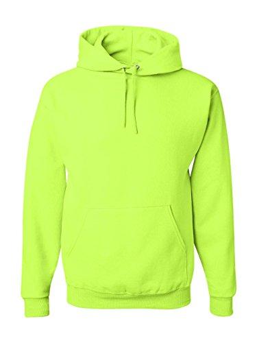 Jerzees 8 oz. NuBlend 50/50 Pullover Hood, Safety Green - XX-Large - 2004 Green T-shirt