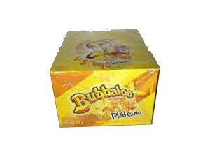Bubbaloo Platano Banana Mexican Gum 1 Pack of 50pcs