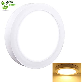 Amazon Com Dllt 18w Dimmable Led Flush Mount Ceiling