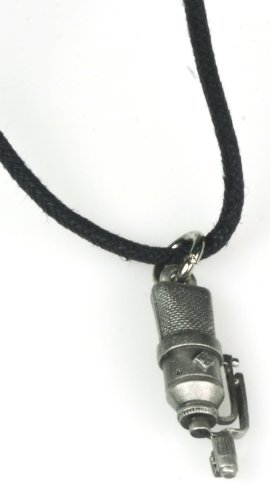 Price comparison product image Harmony Jewelry Neumann TLM 170 Mic Necklace - Pewter
