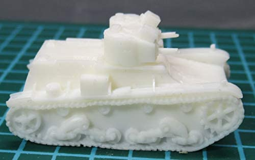 7TP (Twin Turreted)Tank Polish 1/144 レジンキット Resin cast kit
