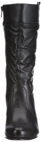 Tamaris Tamaris Black 1-1-25022-27 - Botas de ante para mujer Negro