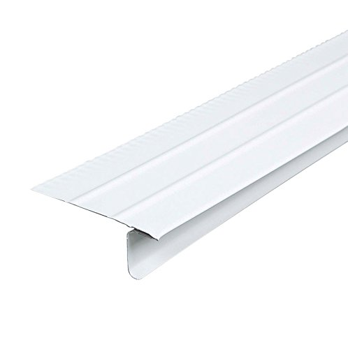 Amerimax 5505400120a Overhanging Roof Drip Edge, Aluminum (Pack Of 25) (Drip Roofing Edge)
