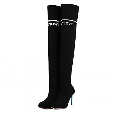 RTRY Women'S Boots Spring Fall Winter Platform Comfort Novelty Patent Leather Leatherette Wedding Office &Amp; Career Dress Casual Party &Amp; Evening US3.5 / EU35 / UK2.5Big Kids 5dNjwveSu