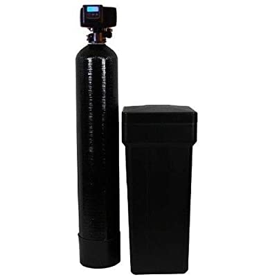 Fleck 5600sxt On Demand Water Softener with Resin Made in USA/Canada (32,000 Grains (Black))
