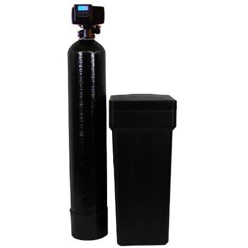 Discount Water Softeners 32k-56sxt-10 Fleck 5600sxt On Demand Water Softener (32,000 Grains) with Resin Made in USA/Canada, Black