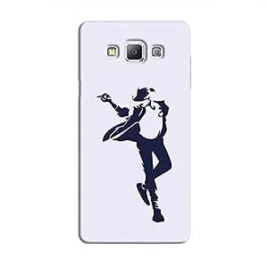 Cover It Up - Moonwalk Print Galaxy A5 Hard Case