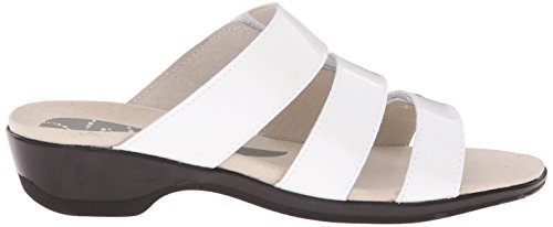 Dress White Proposto Slide Donna Patent Sandal Annika Cqtpq