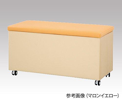 アズワン8-4679-01収納付きスツール(ピンク) B07BD2JBDD