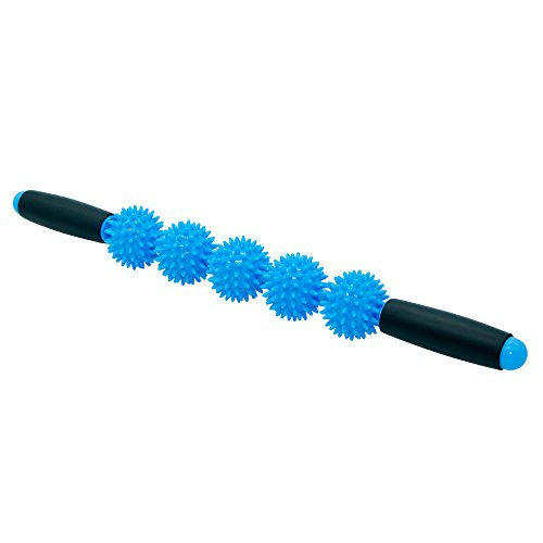 - VEAIDE massage Stick Muscle Roller for Reducing Muscle Soreness shiatsu trigger points massage portable for women Athletes Help Legs and Back foot body Recovery Cramping and Tightness(Blue/Pink)