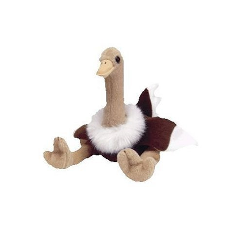 Ty Beanie Babies Stretch the Ostrich - Retired