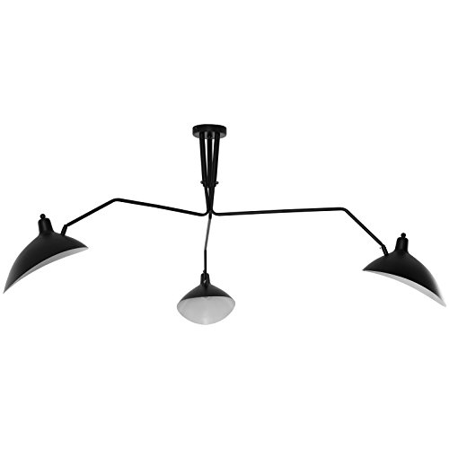 - Modway EEI-1591 View Ceiling Fixture, Black