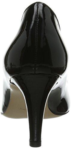 Donna tacco Nero col Schwarz Geschlossen Evita Scarpe Schwarz Shoes Pumps wSqIxw0YX