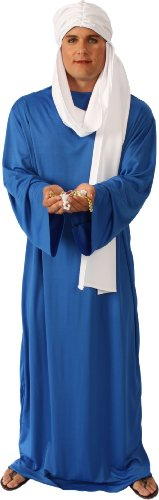 Alexanders Costumes Story of Christ Gown Adult, Dark Blue, One Size -