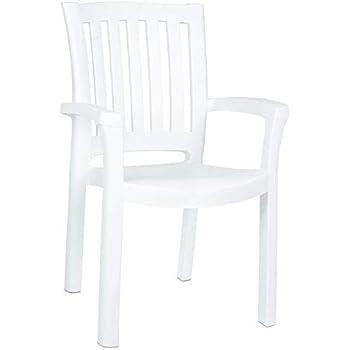 Amazon Com Adams Mfg 8234 48 3704 Wht Low Back Chair