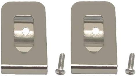 SKCMOX Replacement Belt Clip Hook for Dewalt N268241 Fit for 20V Max Tools DCD980 DCD985 DCD980L2 DCD985L2 (2 Packs)