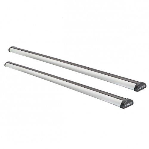 Farad 1-92831//ALU 110 110 cm Aluminium Roof Bars