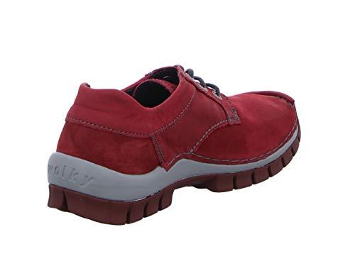 À Ville Rouge Wolky Chaussures De Pour Lacets Femme U7qxfAwtx