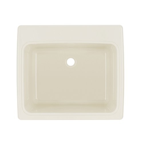 Swan SSUS1000.018 Bisque Solid Surface Utility Sink by Swan