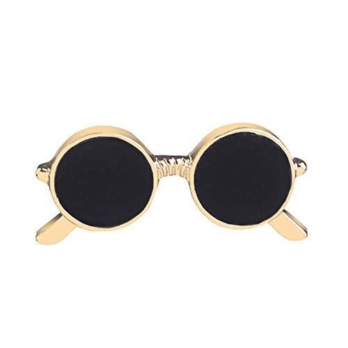 Black Pin Pendant - Da.Wa Black Sunglasses Brooch Men's Suit Shirt Badge Pin Clothing Accessories Jewelry Gift Boutonniere Gold