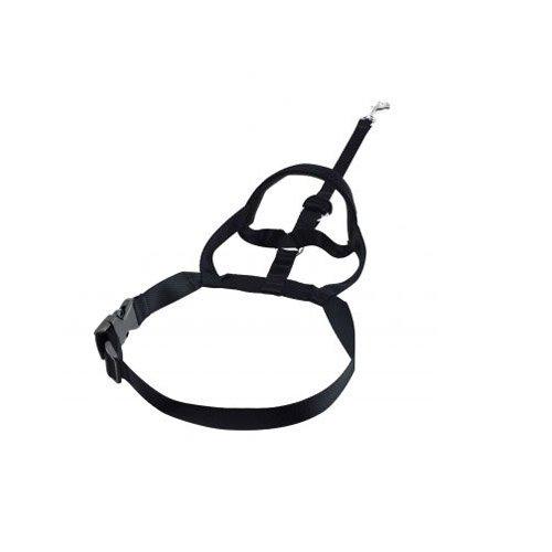Halti Nylon Dog Headcollars with Safety Loop, 5-Size, Black by Halti