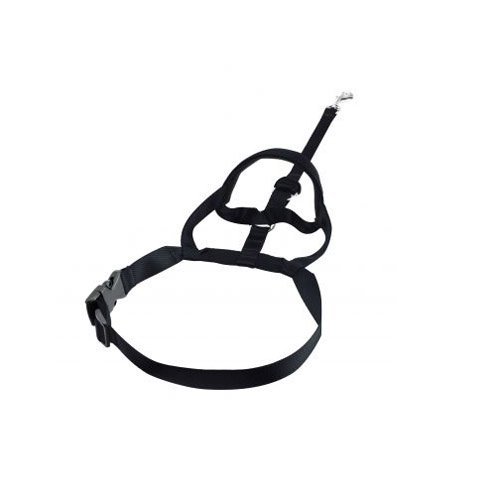 Halti Nylon Dog Headcollars with Safety Loop, 5-Size, Black