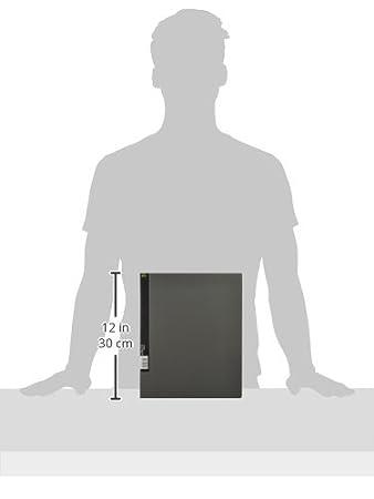 Tarjetero Kawakami ecuación A4 retrato 800 2 agujero gris ...