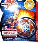 Bakugan Battle Brawlers - B2 Bakupearl Series Hammer Gorem - White - Sub Terra Booster (Bigger Brawlers Battle Pack)