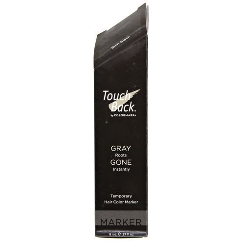 TouchBack Temporary Color Marker (Rich Black)