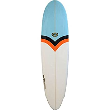 "Tabla de Surf VENON 8 0 ""Zeppelin Funboard Aqua/White, multicolor"