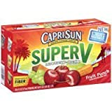 Capri Sun Super V Fruit Punch, 6 OZ (Case of 4) by Capri Sun