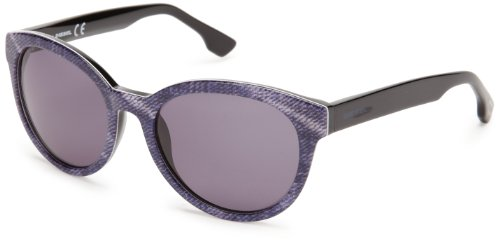 92W Diesel DL0041 Denim DL0041 Black Sunglasses 54 ronde Violet impression 92W Purple 54 pRxpS