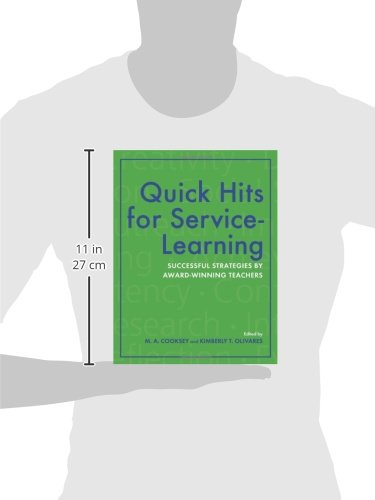 Quick Hits for Service-Learning: Successful Strategies by Award-Winning Teachers by Indiana University Press (Image #2)