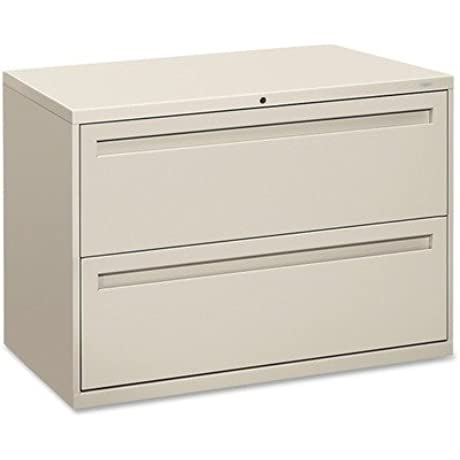 HON 792LQ 700 Series Two Drawer Lateral File 42w X 19 1 4d Light Gray
