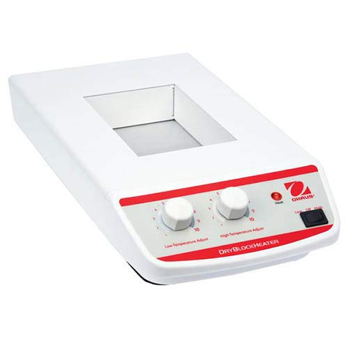 Ohaus HB2AL Analog Dry Block Heater, 2-Block, 5°C - 100°C Temperature Range