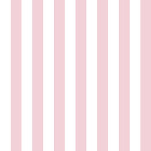 (Dollhouse Wallpaper Stripe Sweet Pea Pink)