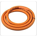 Arrison Superfine Quality Original Lpg Hose-Gas Pipe(Steel Wire Reinforced) Isi Marked 3 Meter With Clamp Free