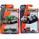 Matchbox 2016 Fire Trucks Heroic Rescue 2 PK MBX Ford F-550 Super Duty Fire Engine 1952 Seagrave #89 + 70 in PROTECTIVE (Seagrave Fire Engine)