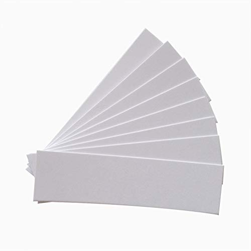 Aromagood Fragrance Test Paper 100pcs White Disposable Perfume Aromatherapy and Essential Oils Test Paper Strip (Fragrance Testing Strips)