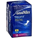 Health & Personal Care : Goodnites Tru-Fit Refill Pack S/M